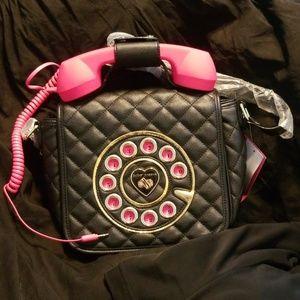 Betsey Johnson functional phone purse